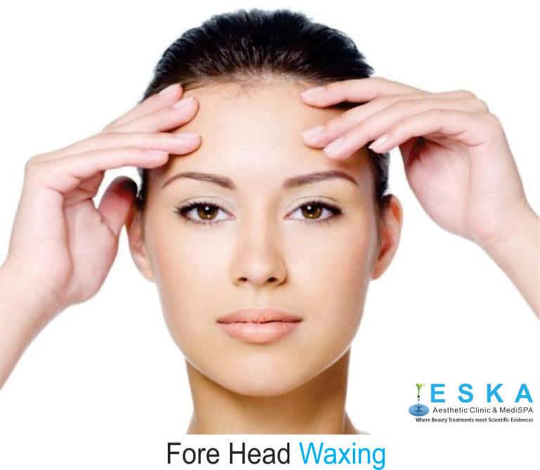 eska group clinic C322-ForeHeadWaxing