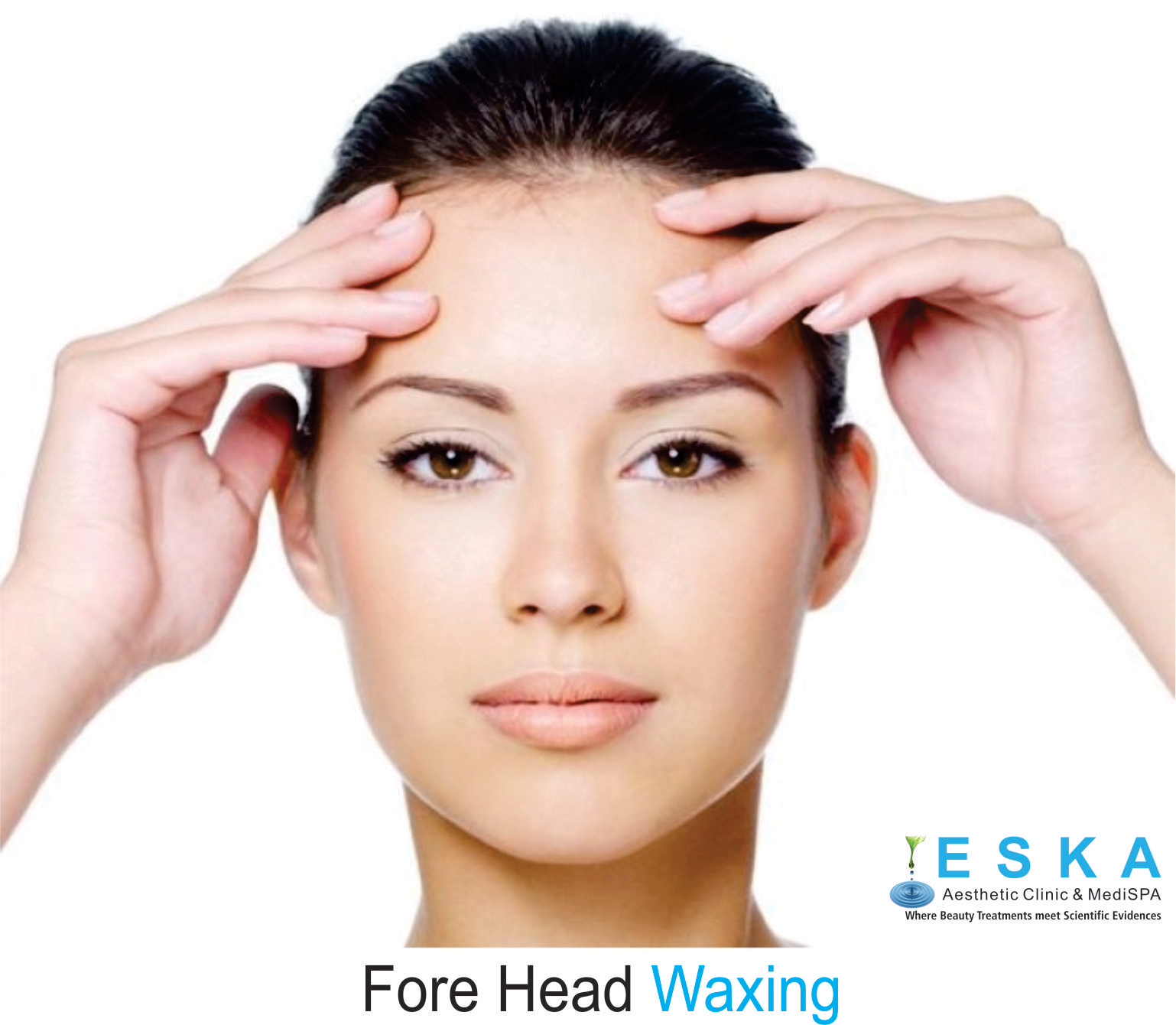 eska group clinic C322-ForeHeadWaxing