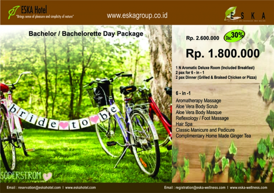 eska group bachelor bachelorette day package