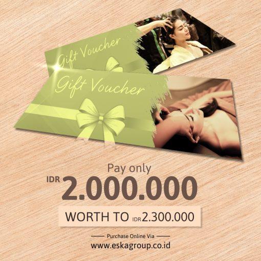 eska group Gift Voucher Online Green