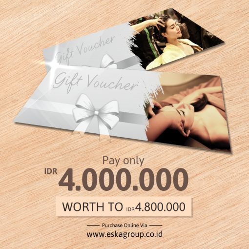 eska group Gift Voucher Online Silver